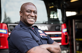 Louis firefighter