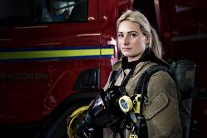 Lucy firefighter