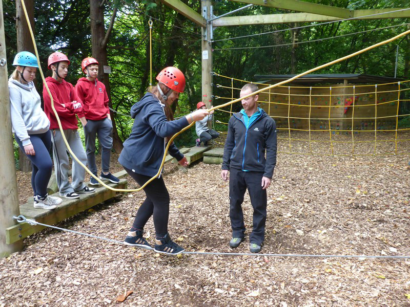 Marle hall low ropes