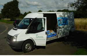 WCC Mobile library van